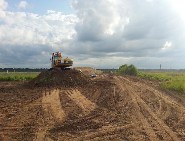 В ЖСК «Новое Шипицыно» идет строительство дорог