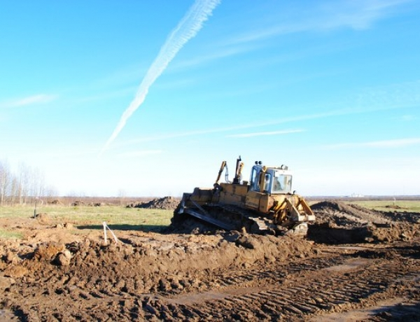 Строительство дорог в ЖСК «Дубровка» идет полным ходом