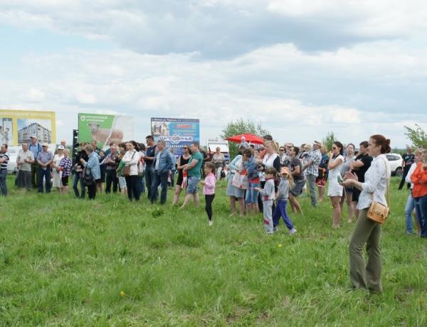 Видеосюжет о презентации и выставке 23 мая в ЖСК «Дубровка»